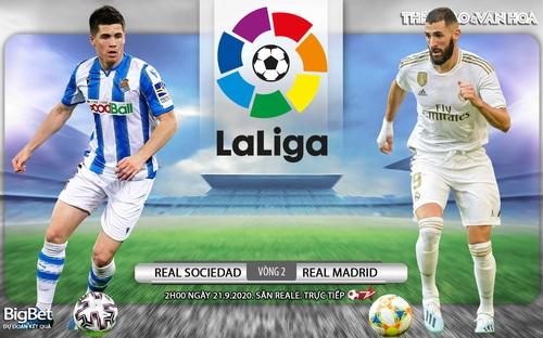 Bóng đá Tây Ban Nha: Soi kèo Real Sociedad vs Real Madrid vòng 2 La Liga