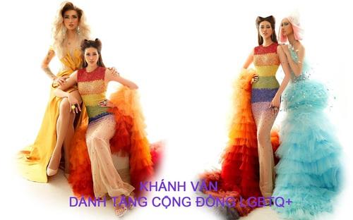 Khánh Vân biến hóa trong bộ ảnh Drag Queen ủng hộ cộng đồng LGBTQ+