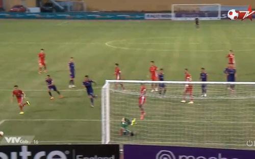 Bàn thắng và hightlight Viettel 1-0 Sài Gòn