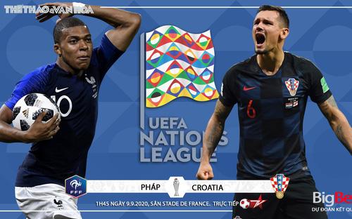 Soi kèo nhà cái Pháp vs Croatia. UEFA Nations League 2020/2021. Trực tiếp BĐTV