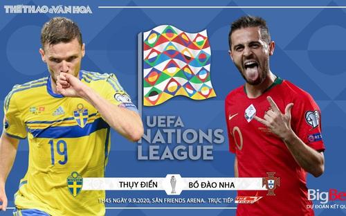 Soi kèo nhà cái Thụy Điển vs Bồ Đào Nha. UEFA Nations League 2020/2021. Trực tiếp TTTV