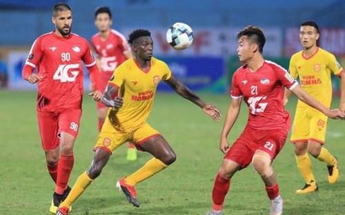Highlights Nam Định 1-2 Viettel - Vleague 2021 vòng 4