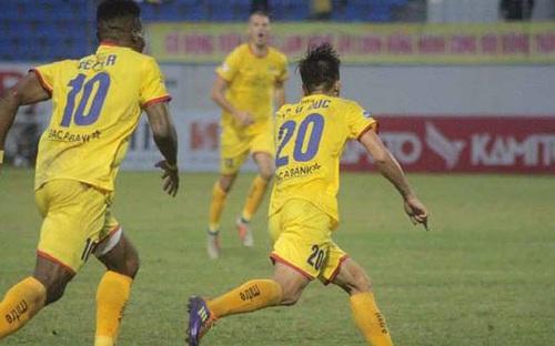 Highlights SHB Đà Nẵng 1-2 SLNA, vòng 5 V League 2021