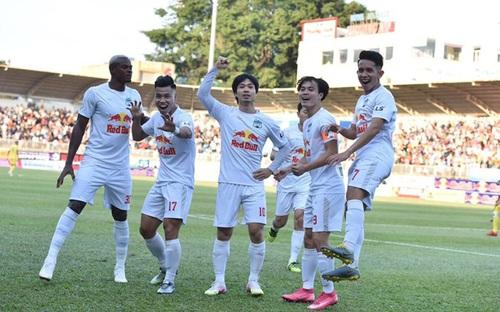 Highlights HAGL 4-3 Nam Định, vòng 9 LS V-League 2021: Nối dài chuỗi trận bất bại