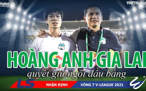 Soi kèo vòng 7 V-League 2021: HAGL quyết đánh bại Hải Phòng ngay tại chảo lửa Lạch Tray