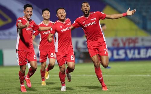 Video bàn thắng Hà Nội FC 0-1 Viettel FC: Chiến thắng quan trọng