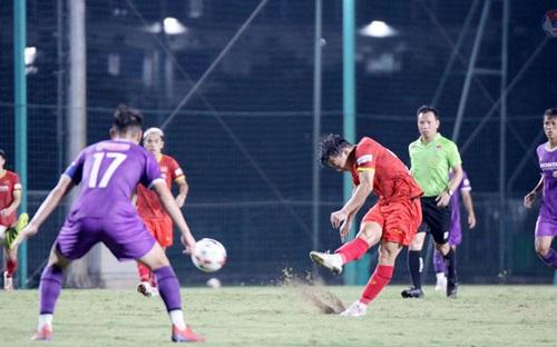 Sau trận đấu tập ĐT Việt Nam và U22 Việt Nam: Ông Park đang toan tính điều gì?