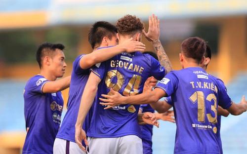 Highlights Hà Nội 3-1 Sài Gòn, vòng 12 V League 2021: Chiến thắng quan trọng