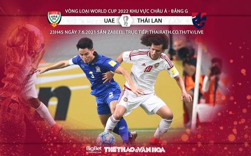 Soi kèo nhà cái UAE vs Thái Lan - vòng loại World Cup 2022