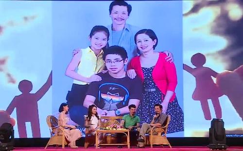 """""""Ông bố quốc dân"""" Trung Anh nói về chủ đề gia đình"""