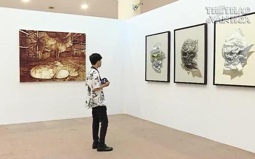 Festival Mỹ thuật trẻ 2020 phản ánh các vấn đề đương đại