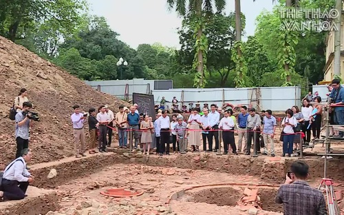 Phát lộ nhiều di vật quan trọng tại Hoàng thành Thăng Long